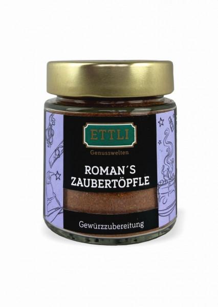 Roman's Zaubertöpfle 70g im Schraubglas -Gewürzzubereitung-