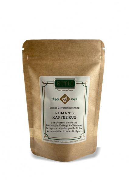 Roman's Kaffee Rub 60g -Gewürzzubereitung-