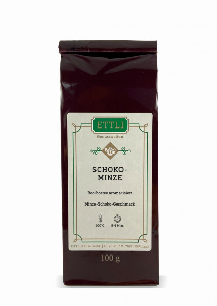 Schoko-Minze 100g -Rooibostee aromatisiert-