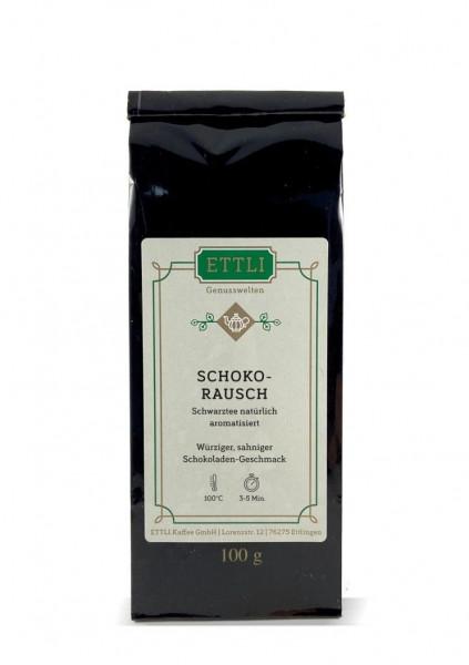 Schokorausch 100g -Schwarztee natürliches Aroma- **ABVERKAUF**