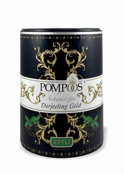 Pompöös Schwarztee 200g -Darjeeling Gold-