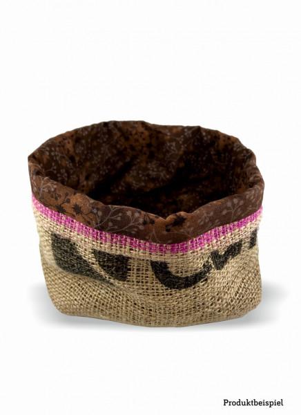 Kaffeesackkörbchen -klein-