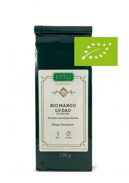 Bio Mango Lu Dao 100g -Grüntee natürliches Aroma- DE-ÖKO-006