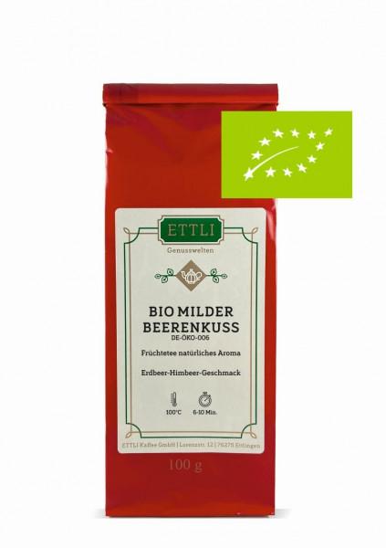 Bio Milder Beerenkuss 100g -Früchtetee natürliches Aroma- DE-ÖKO-006