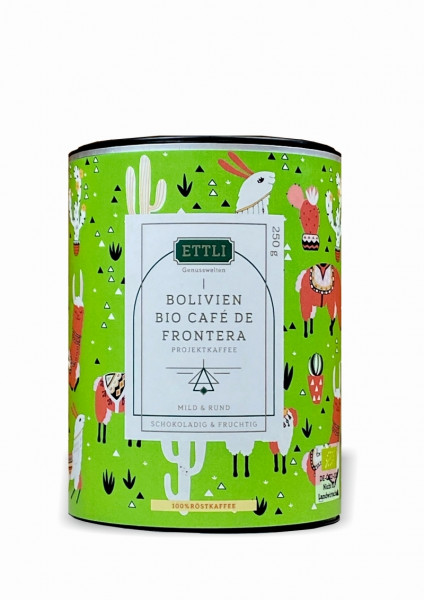 Bolivien Bio Café de Frontera 250 g -Projektkaffee-