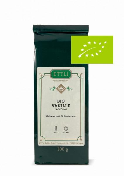 Bio Vanille 100g -Grüntee natürliches Aroma- DE-ÖKO-006