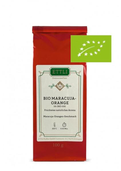 Bio Maracuja-Orange 100g -Früchtetee natürliches Aroma- DE-ÖKO-006