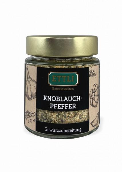 Knoblauchpfeffer 90g im Schraubglas -Gewürzubereitung-