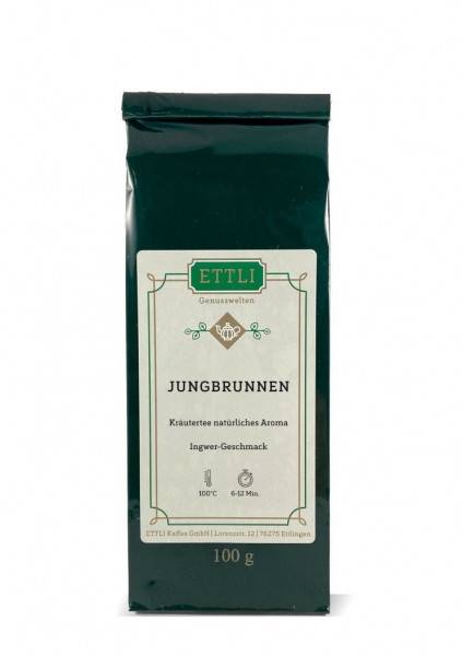 Jungbrunnen 100g -Kräutertee natürliches Aroma-