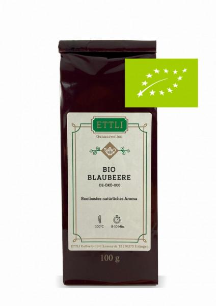 Bio Blaubeere 100g -Rooibostee natürliches Aroma- DE-ÖKO-006