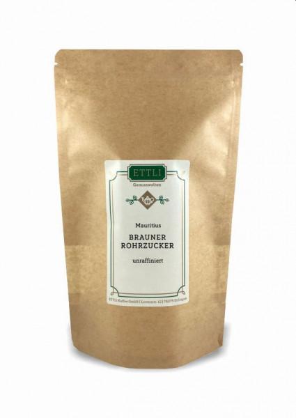 Brauner Rohrzucker 250g -Mauritius-