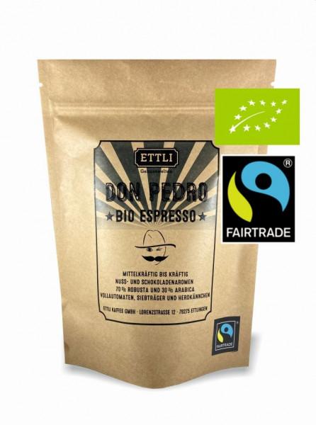 DON PEDRO Bio Fairtrade Espresso