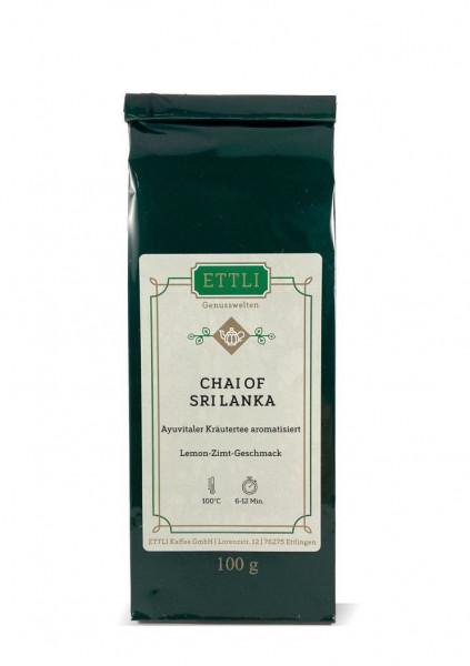 Chai of Sri Lanka 100g -Ayuvitaler Kräutertee aromatisiert-