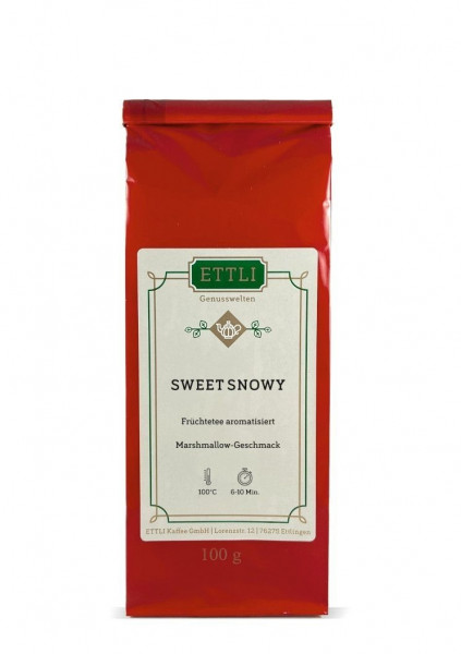 Sweet Snowy 100g -Früchtetee aromatisiert-