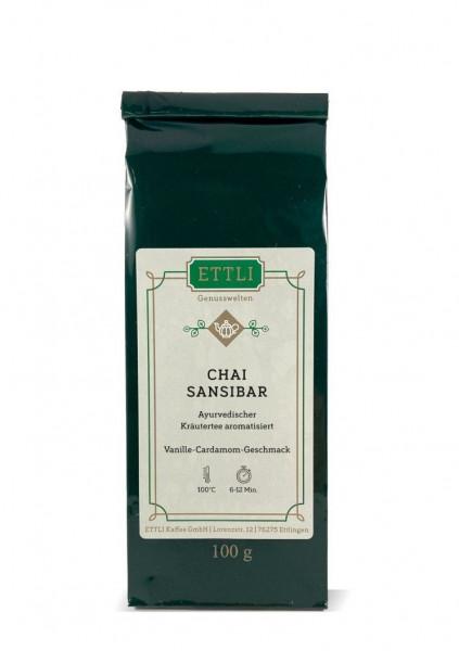 Chai Sansibar 100g -Ayurvedischer Kräutertee aromatisiert-
