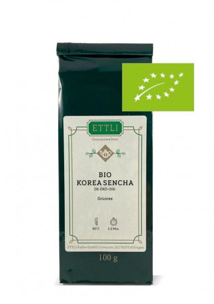 Bio Korea Sencha 100g -Grüntee- DE-ÖKO-006