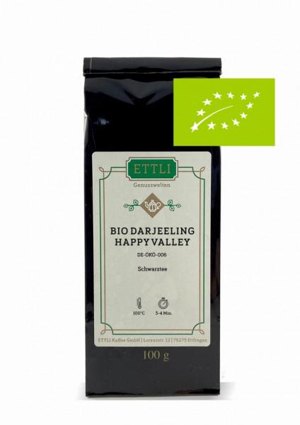 Bio Darjeeling Happy Valley 100g -Schwarztee second flush- DE-ÖKO-006