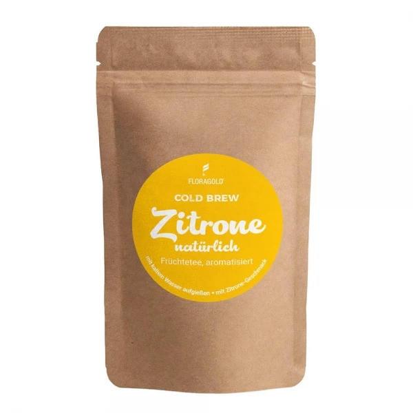 Cold Brew Zitrone natürlich - Früchtetee, aromatisiert 100g