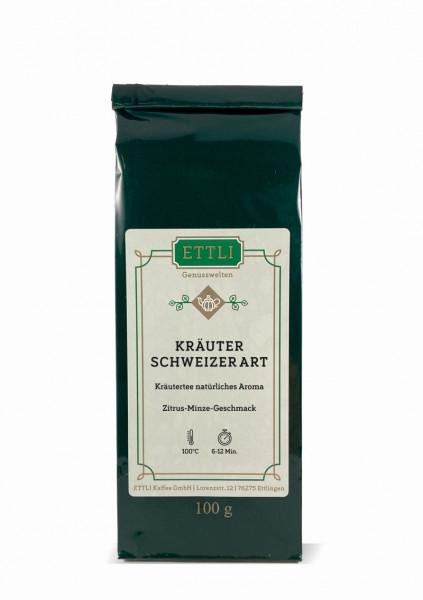 Schweizer Kräutertee 100g -Kräutertee natürliches Aroma-